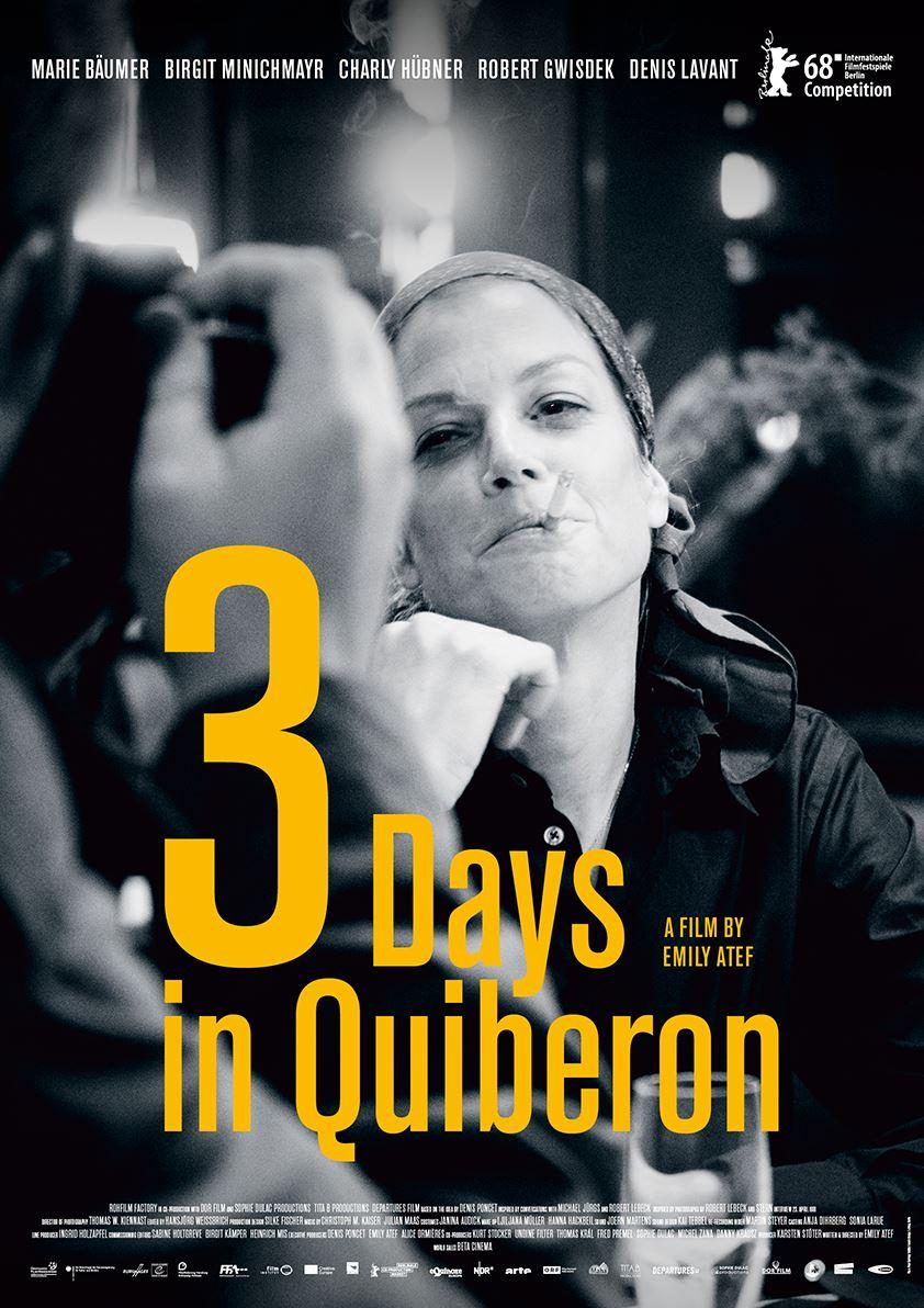 3 Tage in Quiberon Filmposter